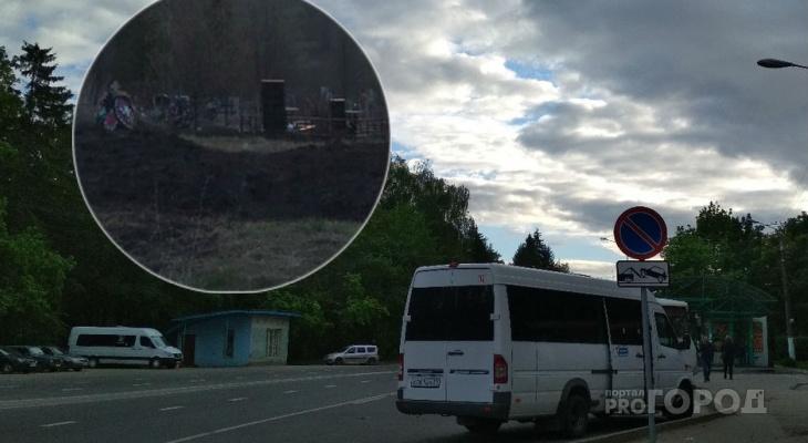 До городского кладбища выделили автобус выходного дня