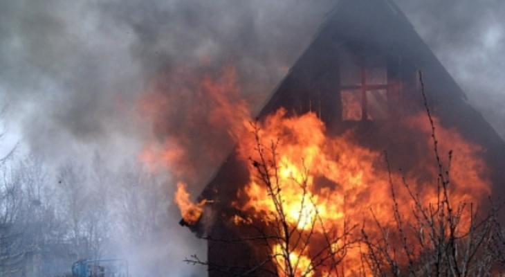 В Чувашии с начала года огонь уничтожил 42 дачи