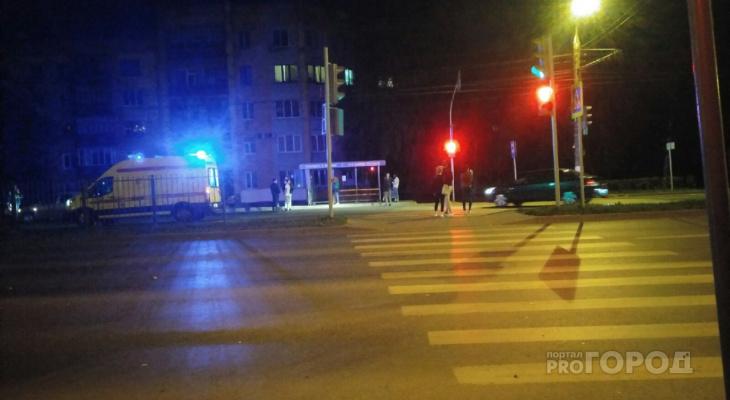 В Новоюжном районе сбили мужчину, переходившего дорогу на красный свет