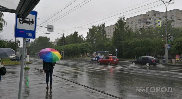 Синоптики рассказали, какой день на этой неделе станет самым дождливым в Чувашии