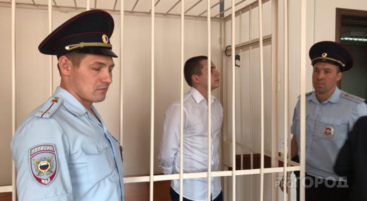 Олега Ладыкова решением суда на время оставили за решеткой