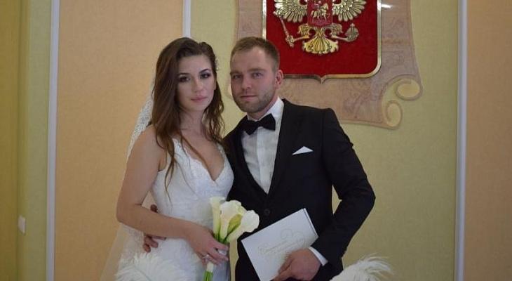 Влюбленные приехали из разных регионов, чтобы пожениться в Алатыре