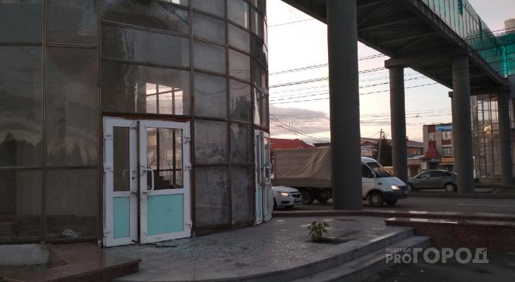 Недостроенный переход на Марпосадском шоссе начали разбивать