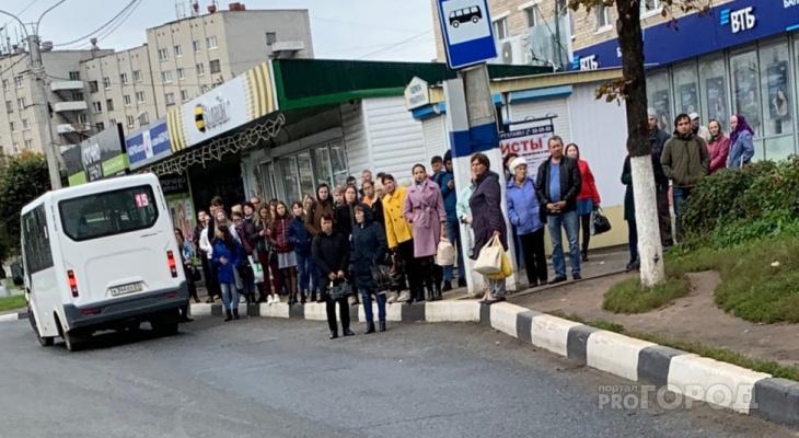 В Новочебоксарске люди застряли на остановках из-за рейда ГИБДД
