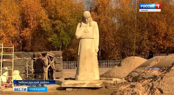 В Чувашии создают каменную статую для курортного полуострова
