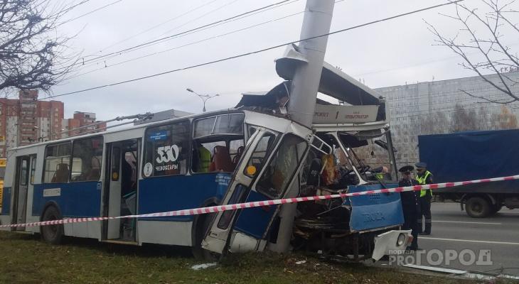 Водитель троллейбуса до ДТП проработал 10 дней, заведено дело