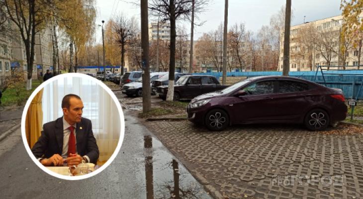 Захваченные парковки Новочебоксарска попали под внимание Игнатьева
