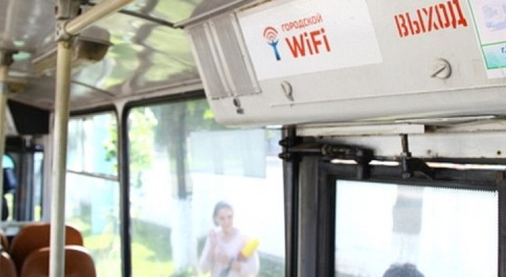 В чебоксарских троллейбусах отключат Wi-Fi