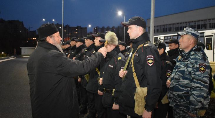 Отряд полицейских из Чувашии обеспечит порядок на Северном Кавказе