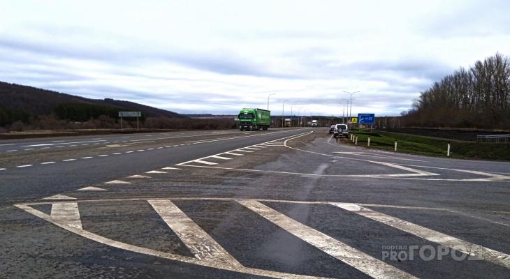Участок дороги в Козловском районе переделали, не потратив ни рубля из бюджета Чувашии