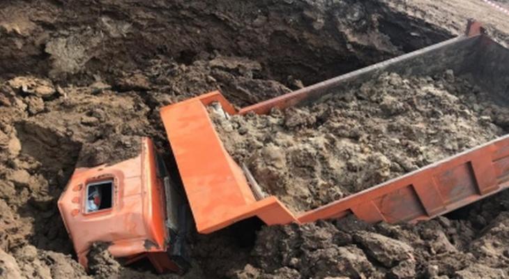 Гибель водителя КамАЗа в бомбоубежище оценили условными сроками