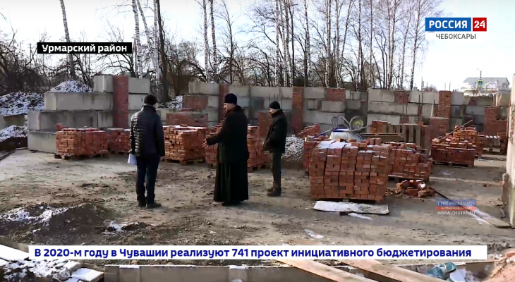 Жителям Урмар не хватает больше 50 миллионов рублей на строительство нового храма