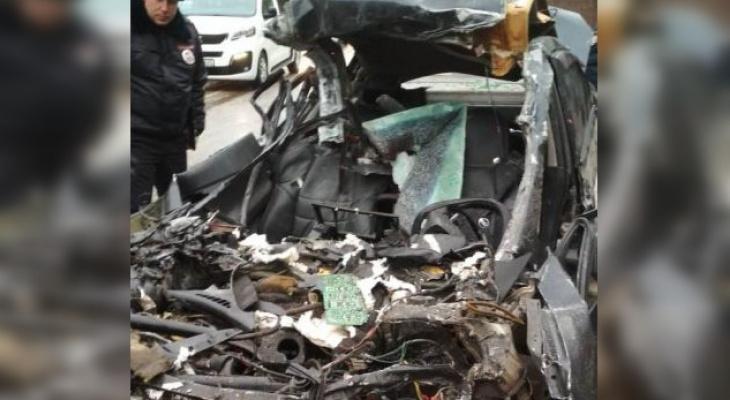 В столкновении с КамАЗом погиб водитель «Ниссана»