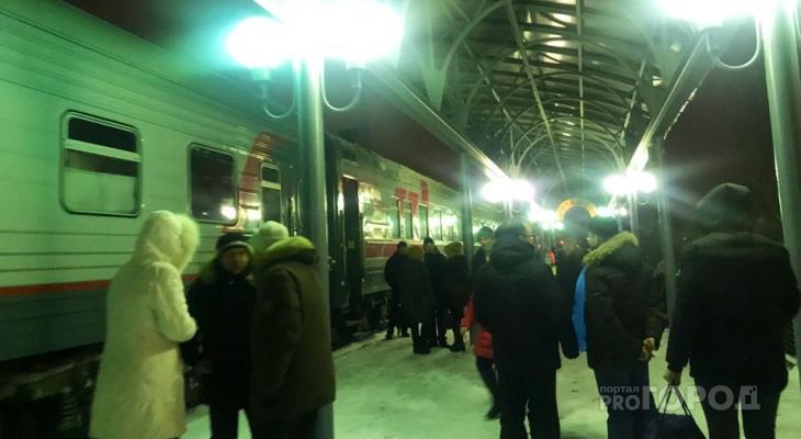 Поезда Москва — Чебоксары в новогодние праздники будут ездить чаще