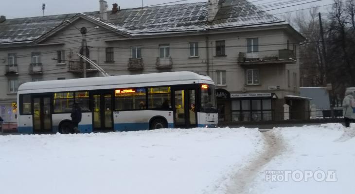 Полное расписание троллейбуса № 100 Чебоксары - Новочебоксарск