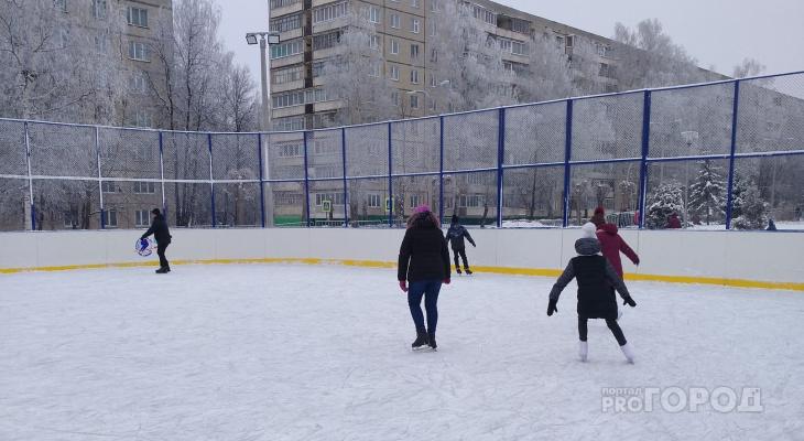 Массовое катание на коньках, бассейн и гимнастика: первый в 2020 День здоровья