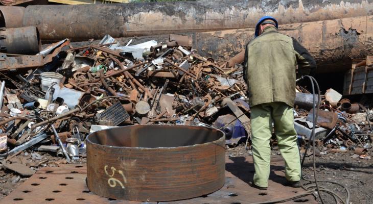 Предприятие в Чувашии приняло более 70 тысяч тонн металла