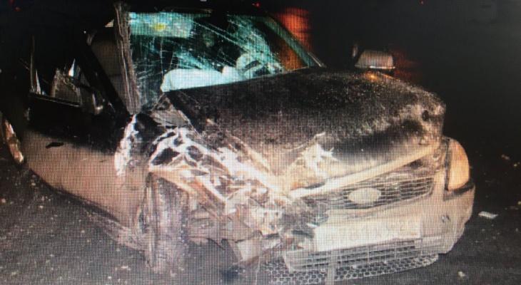 """В Чебоксарах пострадали два водителя из-за игнорирования знака """"Движение направо"""""""