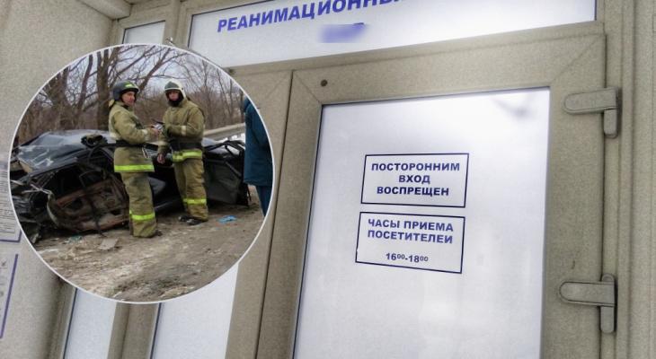 Участник аварии в Порецком районе умер, не приходя в себя