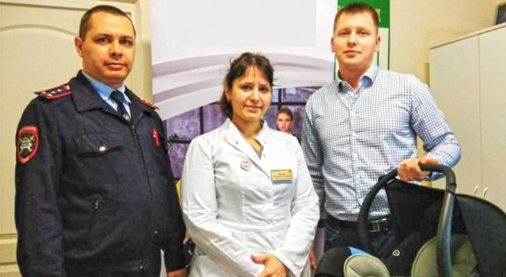 МВД проводит тренинги для будущих мам в женской консультации