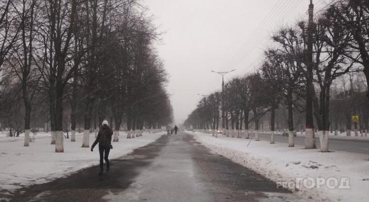 Вероятность зимней погоды в четверг повышается