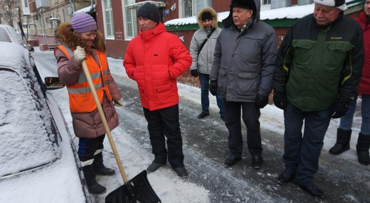 Чебоксарские чиновники обошли город и выявили недоработки