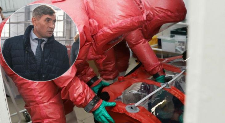 Николаев распорядился направить 50 миллионов рублей на профилактику коронавируса