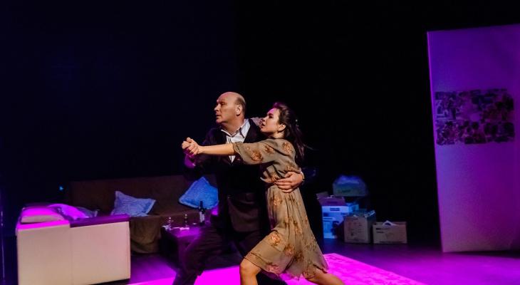 В камерный театр привезли комедию о любви «Пришел мужчина к женщине» к 14 февраля