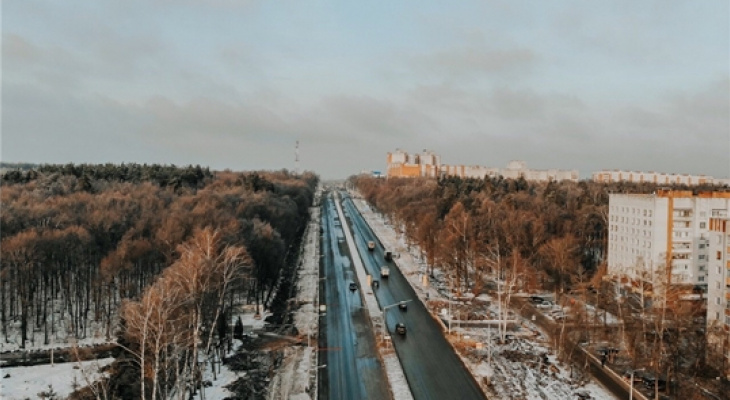 Установлены дни перекрытия магистрального выезда из города