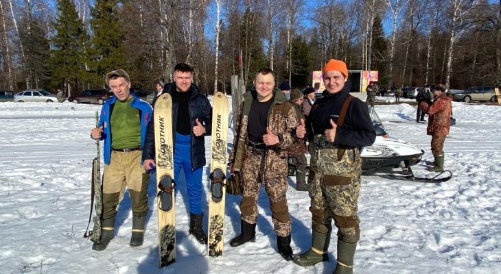 Биатлон по-чувашски: стрельба из ружей, кабан вместо медали и шурпе