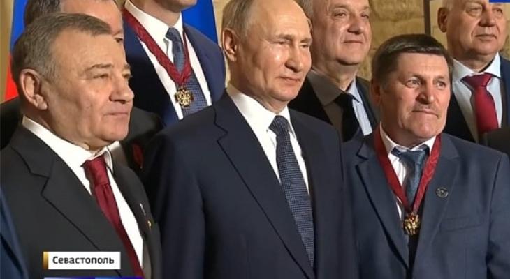 Путин наградил трех жителей Чувашии орденами и медалью за труд