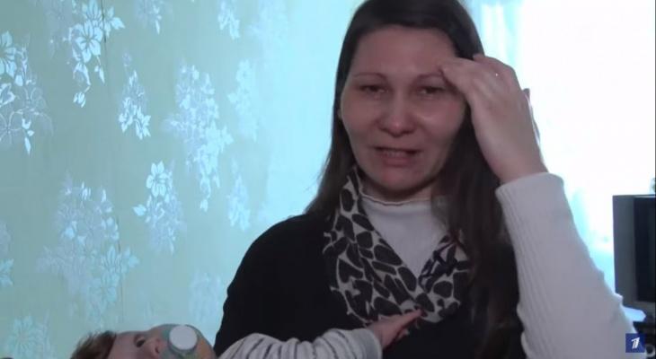 Беременная женщина из Чувашии пришла на Первый канал, чтобы вернуть шестерых детей