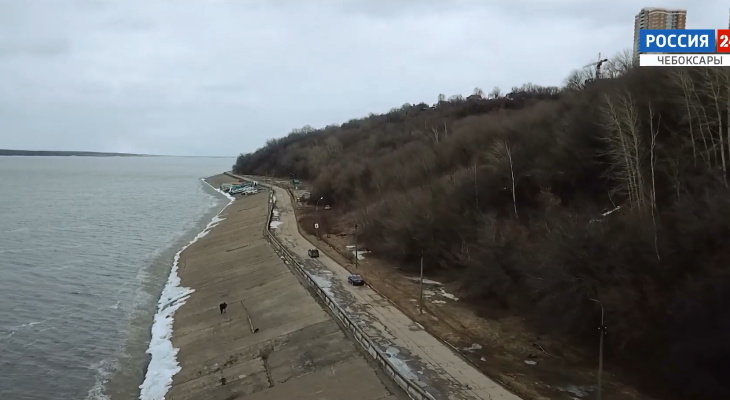 В Чебоксарах собираются построить дорогу вдоль Волги в Новочебоксарск