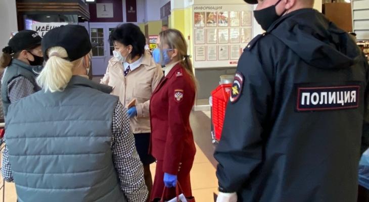Проверяющие нашли 2 магазина, которые работали с нарушением масочного режима