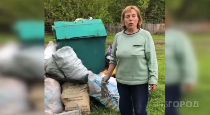 """В Чебоксарском районе мусоровоз застревает по дороге в деревню: """"Платим, а мусор не вывозят"""""""