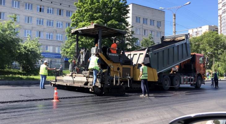 В Новочебоксарске раньше срока отремонтировали две улицы