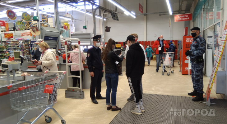 Роспотребнадзор опроверг информацию, что в магазинах можно отовариваться без маски
