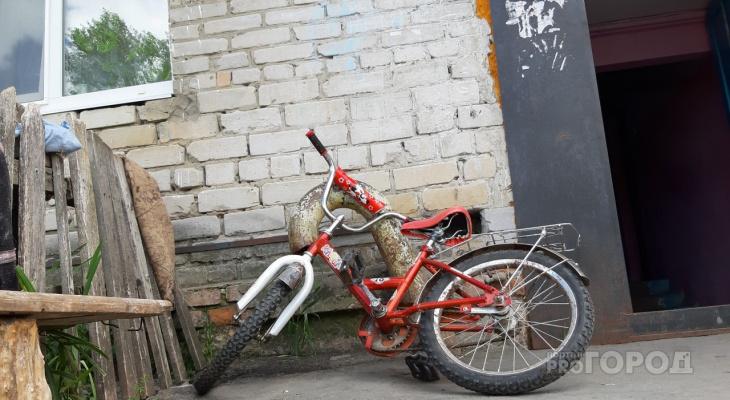 Новочебоксарец украл велосипед и постарался скорее от него избавиться