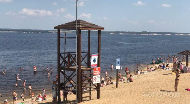 Жителям Чебоксар грозят штрафы за посещение пляжей