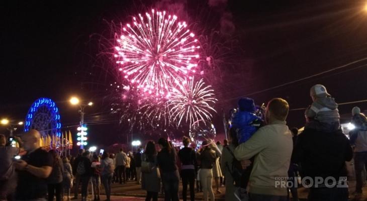 Летний фестиваль фейерверков в Чувашии превратят в зимний