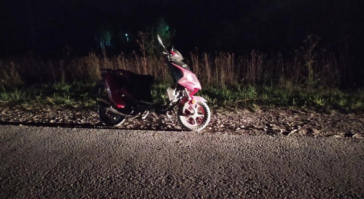 В Чебоксарском районе подросток на скутере сбил 10-летнего мальчика