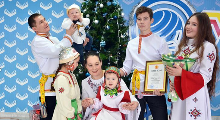 Семью из Чувашии признали лучшей сельской в России