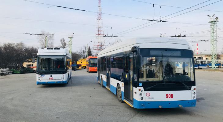 В Чувашии выбрали поставщика новых троллейбусов, их привезут в этом году