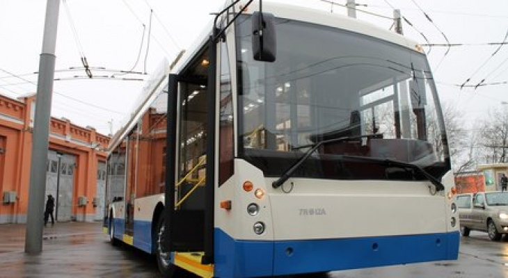 Использованные троллейбусы привезут из Москвы в Чувашию за полмиллиона рублей