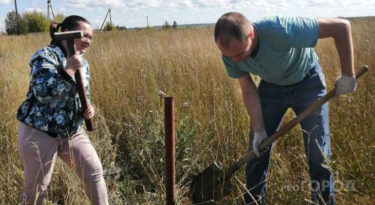 """Семье из Новочебоксарска дали землю в 120 километрах от дома: """"Мы всем довольны"""""""