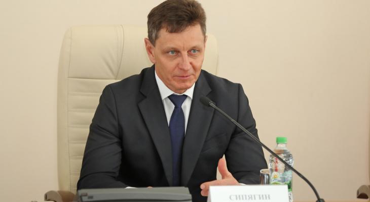 Петр Колтыпин встретился с Губернатором Владимирской области Владимиром Сипягиным