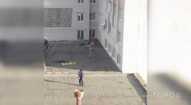 В Альгешево под окнами общежития рано утром обнаружили тело 28-летнего мужчины