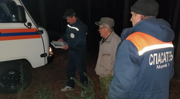 Чебоксарец заблудился в лесах Черного озера