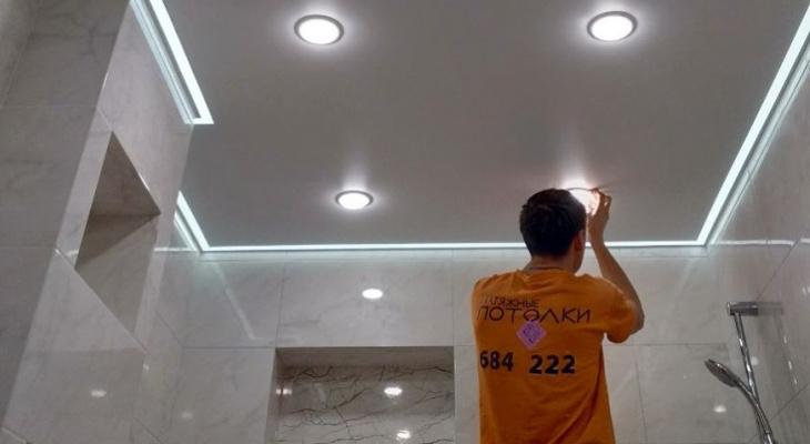 Двузначный номер нашего региона поможет чебоксарцам бесплатно получить 2 светильника при заказе потолков
