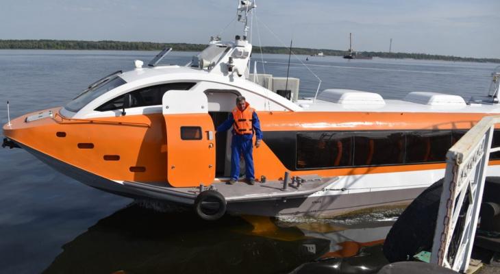 Скоростные пассажирские корабли могут появиться в Чувашии следующим летом